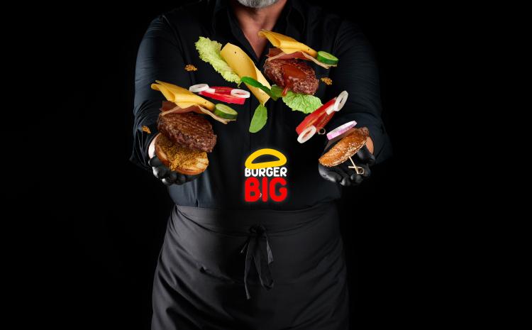 Burger Big è la ghost kitchen BOMBA di hamburger gourmet!
